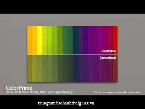 Công nghệ tăng cường dải màu ColorPrime trên Smart tivi LG