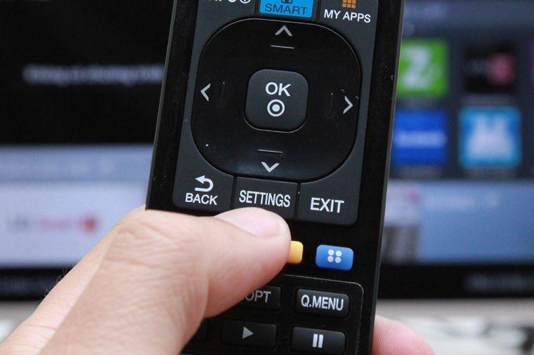 dò kênh smart tv lg chạy hệ điều hành netcast