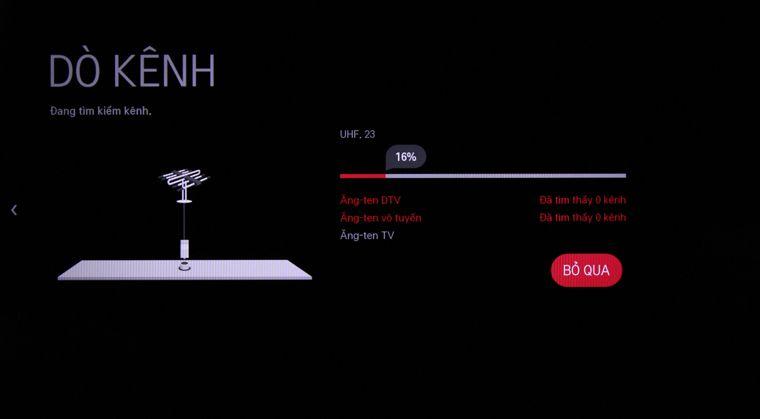 Hướng dẫn dò kênh smart TV LG chạy hệ điều hành webOS